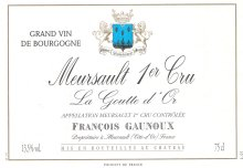 photo Domaine Francois Gaunoux Meursault 1er Cru