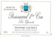 photo Domaine Francois Gaunoux Pommard 1er Cru
