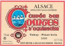 photo Leon Beyer Tokay Pinot Gris Alsace Cuvee des Comtes d Eguisheim
