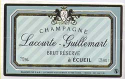 Lacourte Guillemart Champagne cuvee tradition
